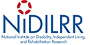 the National Institute on Disability Independent Living and Rehabilitation Research logo